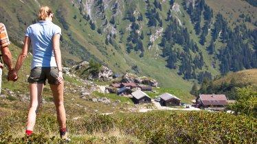 Wanderung von Lanersbach zur Käserei Stoankasern, © TVB Tux-Finkenberg