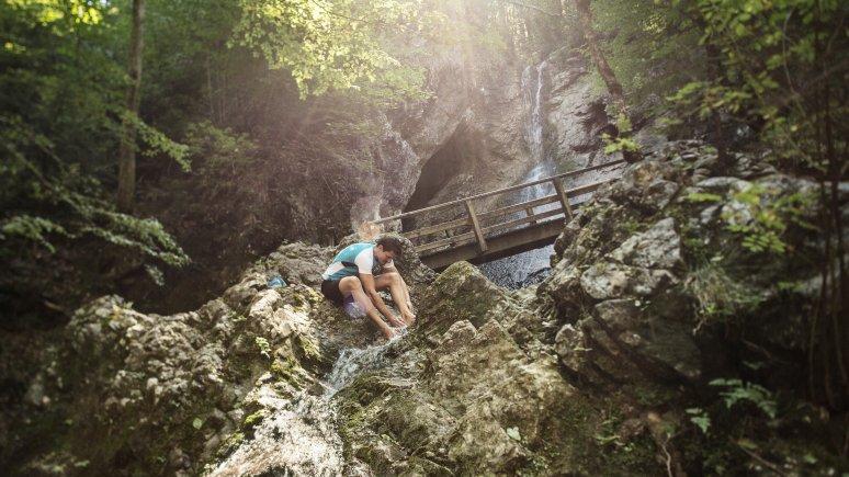 Wasserfall Bad Häring, © Lolin