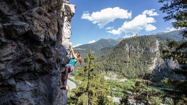 Klettern in Landeck und Umgebung, © Archiv TVB TirolWest/Daniel Zangerl