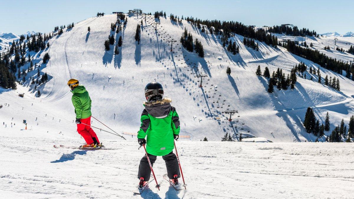 Skifahren mit der Familie in der Region Wilder Kaiser, © Felbert Reiter