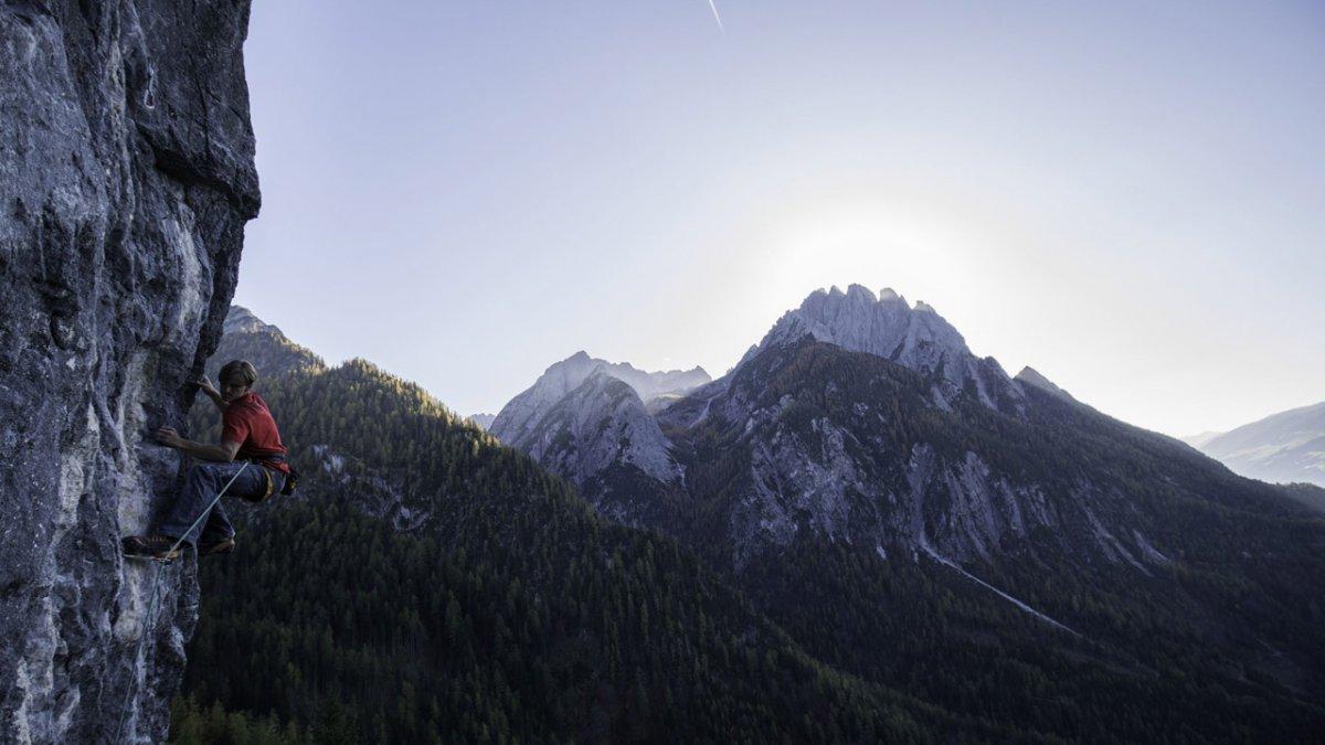 Klettern in Osttirol, © Tirol Werbung / Johannes Mair