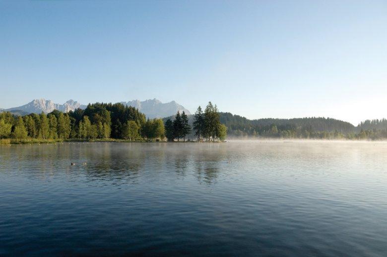 Der Schwarzsee bei Kitzbühel. Foto: Kitzbühel Tourismus / Kurt Tropper