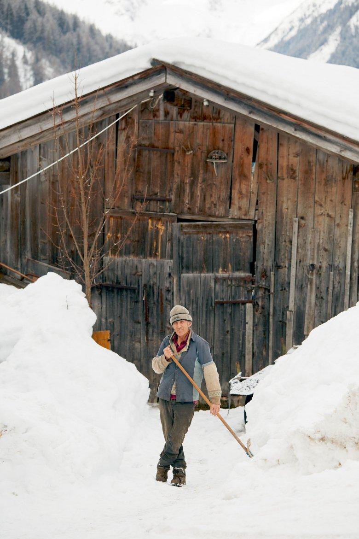 Schneeschöpfen (2)