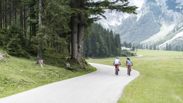 This section of the ride leads from Pertisau into the Karwndeltäler Valleys, © Achensee Tourismus