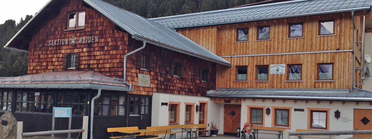 Weidener Hütte, © Tirol Werbung/Speckbacher