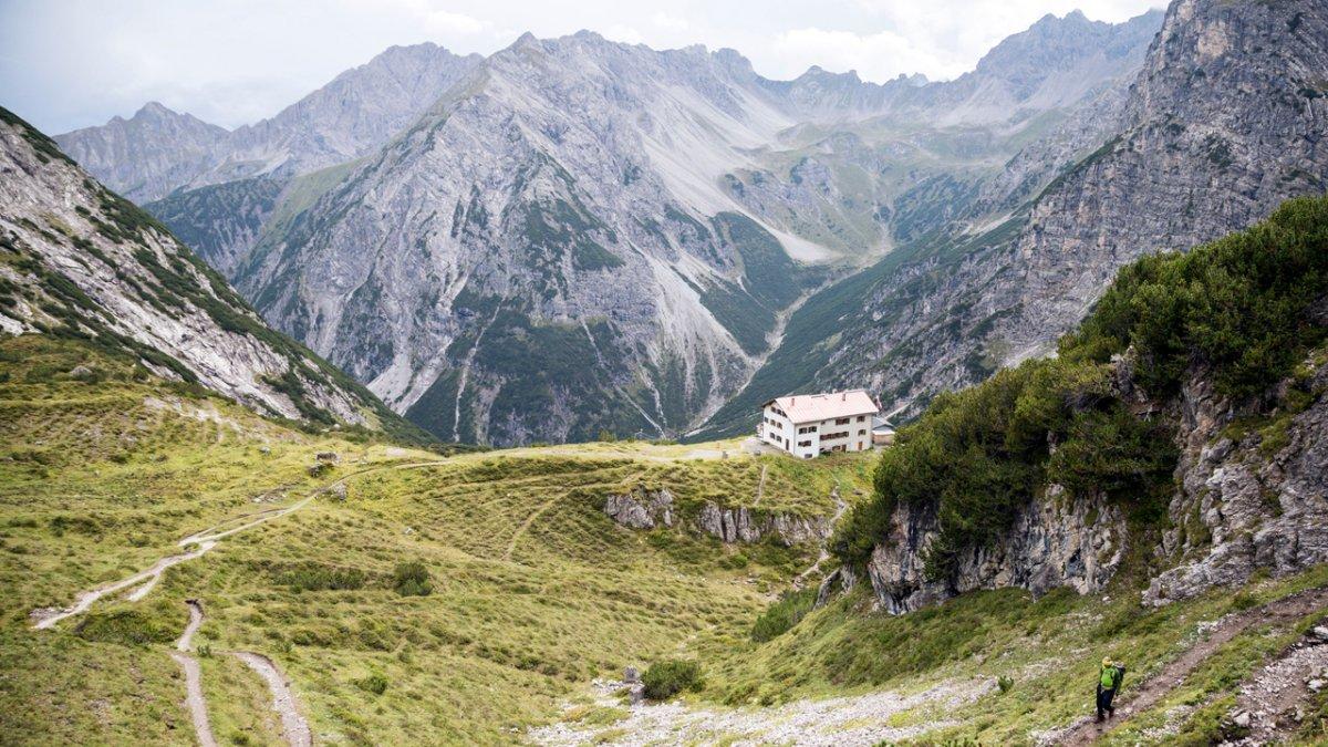 Adlerweg: Route in den Lechtaler Alpen, © Tirol Werbung