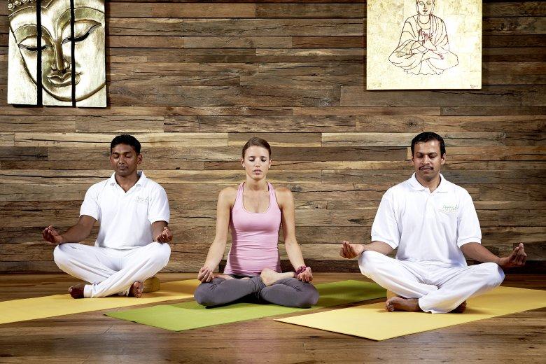 Individuelle Yoga-Einheiten und spezielle Yoga-Workshops. , © Ayurveda-Resort Sonnhof
