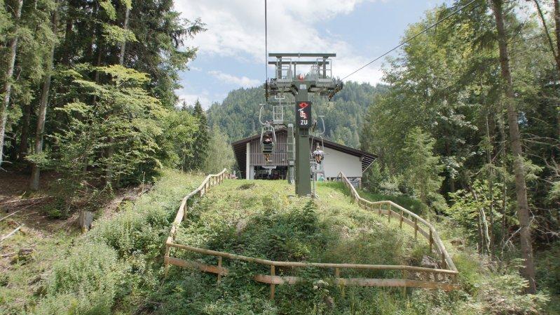 Kaiserlift Kufstein, © Tirol Werbung/Valentin Margreiter