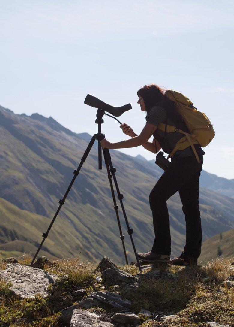 Carola Trojer ist Rangerin im Nationalpark.