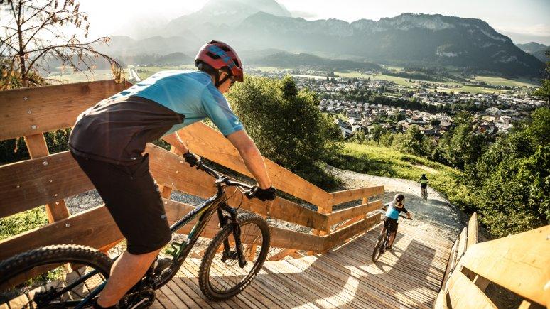 Bikepark Oberndorf, © Mirja Geh