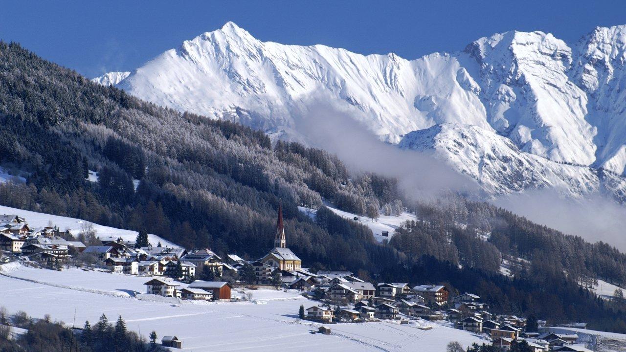 Telfes im Stubaital im Winter, © Stubai Tirol