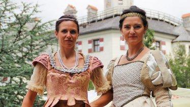 Eine Reise in die Zeit der Rennaissance erleben die Besucher beim Schlossfest Ambras, © Emma Sinn