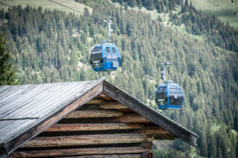 Die Waldbahn – im Sommer eine Bahn nur für Biker.