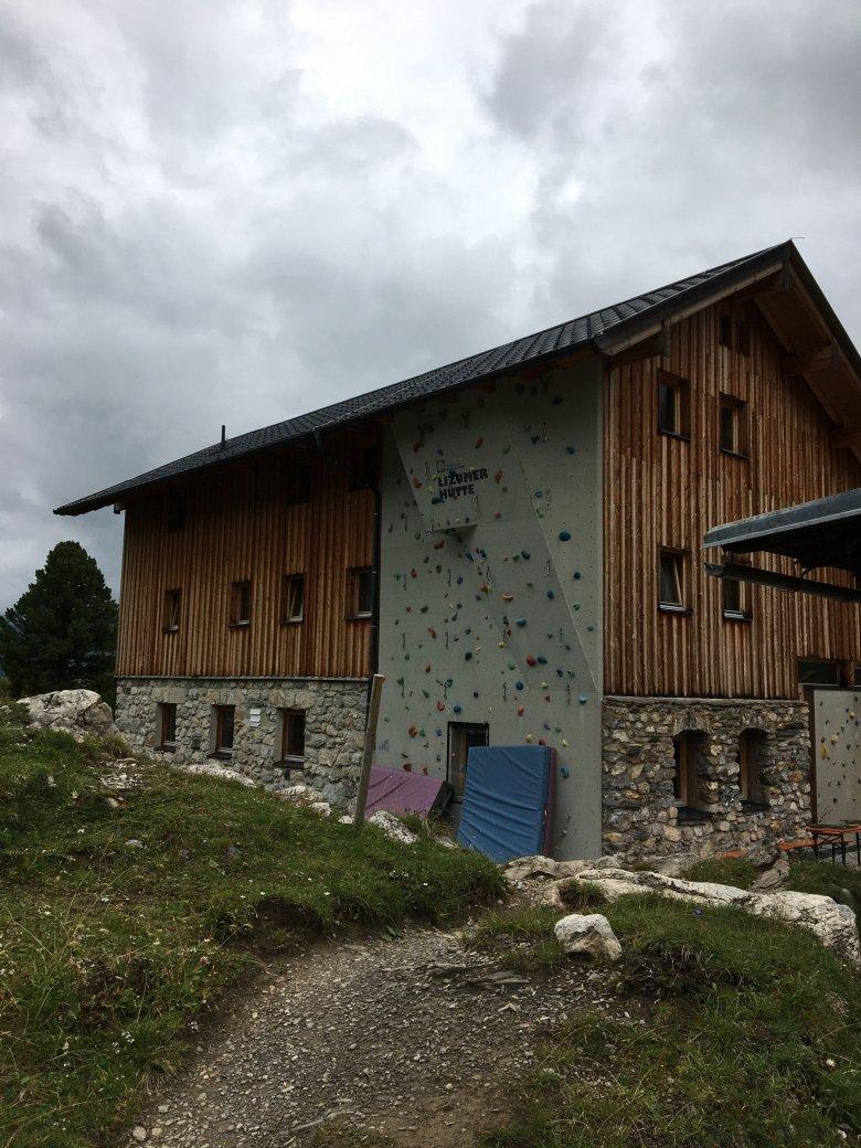 Die Lizumer Hütte. Foto: Julia Müller