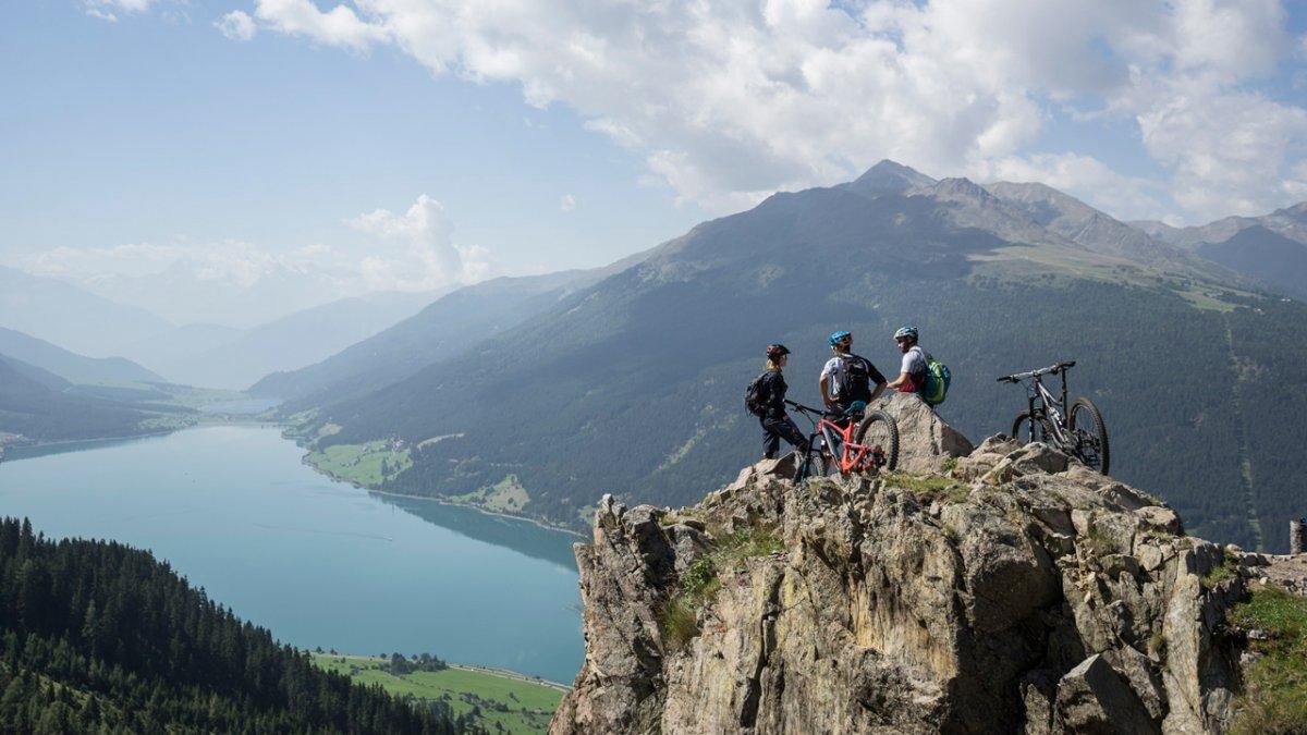 Mountainbiken in Nauders