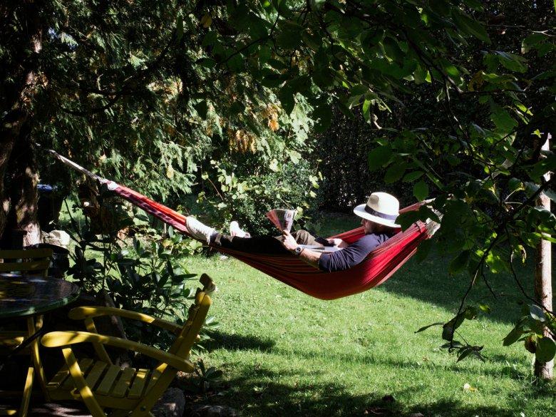 ImUnterwirt fällt entspannen leicht.            , © Tirol Werbung / Nicolas Hafele