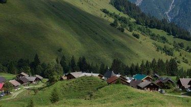 Almdorf Fallerschein im Lechtal, © Tirol Werbung/Jörg Koopmann