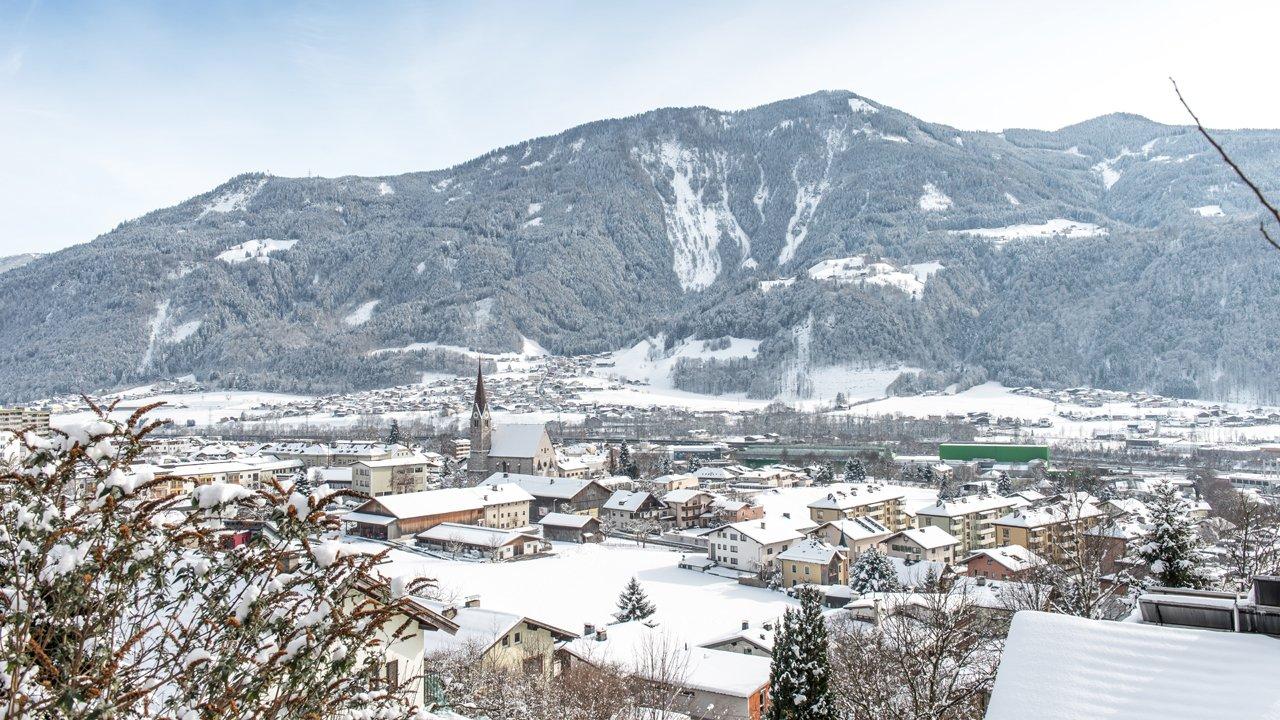 Jenbach im Winter, © TVB Silberregion Karwendel  Speichern  Abbrechen