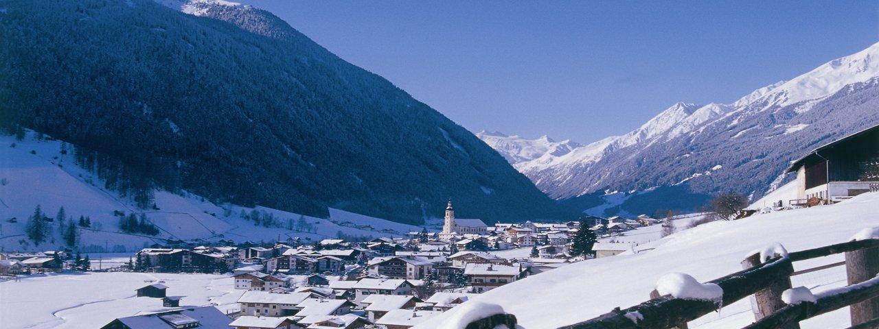 Neustift im Stubaital im Winter, © Stubai Tirol