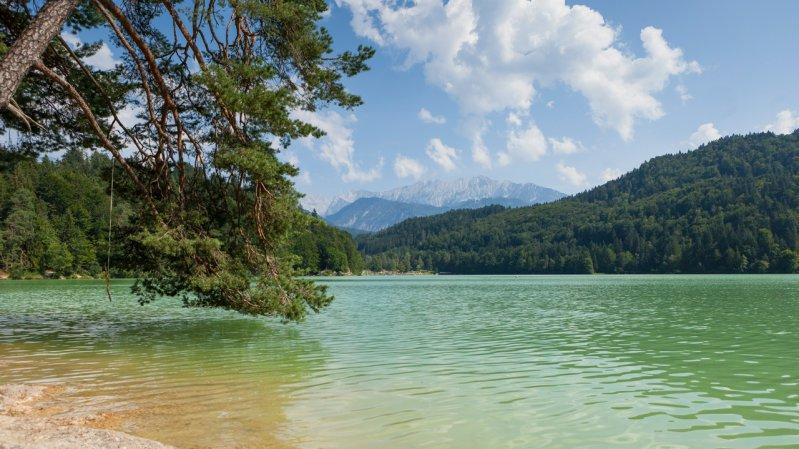 Badesee Hechtsee, © Tirol Werbung/W9 Studios