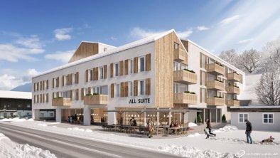 Visualisierung all-suite resort Fieberbrunn