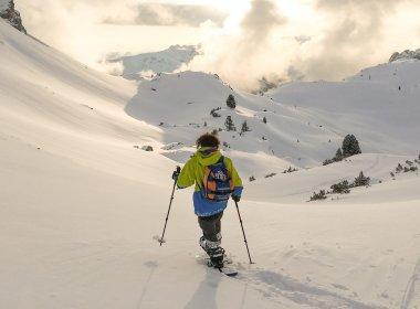 Schneeschuhwanderung im Rofangebirge.