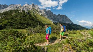 Wandern im Wilden Kaiser, © Daniel Reiter / Peter von Felbert