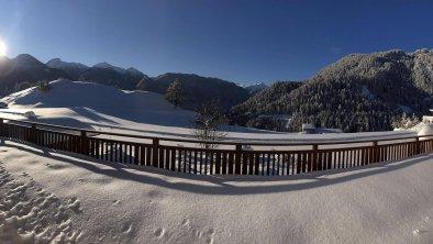 Winter Ausblick Panorama