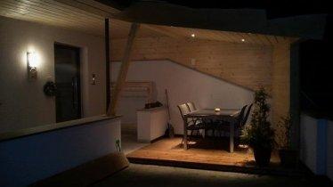 Ferienwohnung Walder - Terrasse Nacht 1