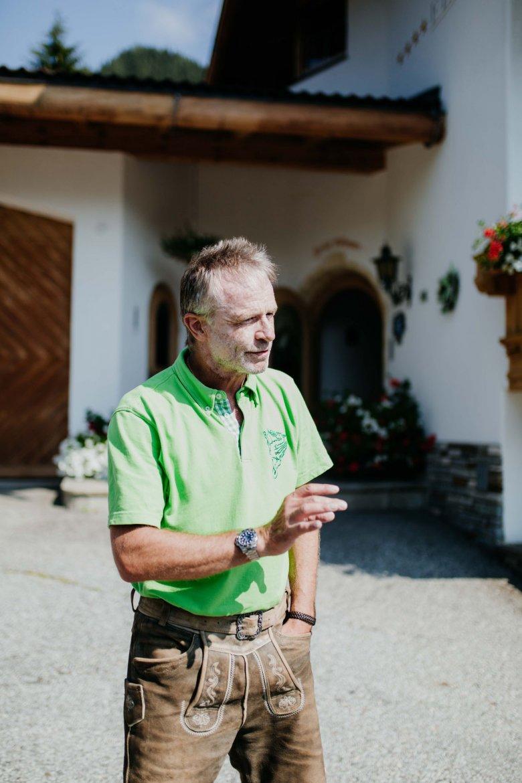 Rainer Silberberger führt gemeinsam mit seiner Frau Uschi das Hotel