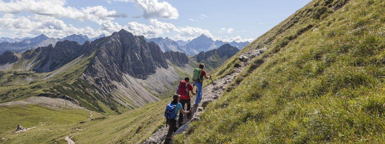 Wandern im Tannheimer Tal, © Tirol Werbung/Klaus Kranebitter
