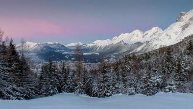 Blick in das Inntal von Mösern, © Olympiaregion Seefeld - J.Geyer