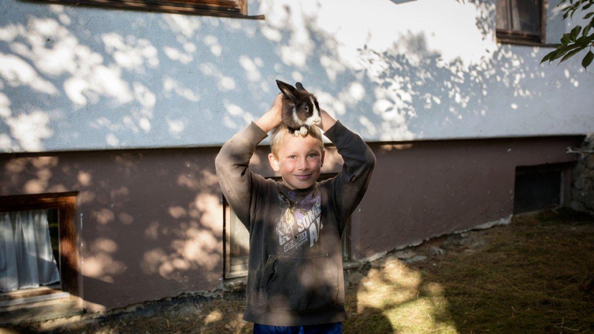 Jede Menge Kleintiere zum Liebhaben gibt es auf dem Flecklhof., © Tirol Werbung/Lisa Hörterer
