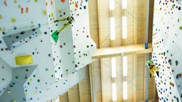 Kletterhalle Ehrwald, © Ben Leitner