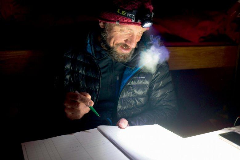 Das Biwakbuch verzeichnet für die Saison kaum zwei Dutzend Übernachtungen.