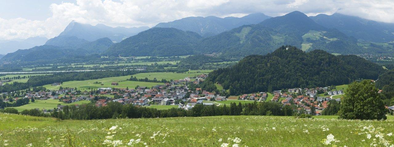 Niederndorf im Sommer, © Kufsteinerland