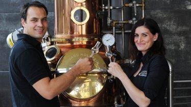Melanie Haider & Mario Huber, © Agrarmarketing-Tirol