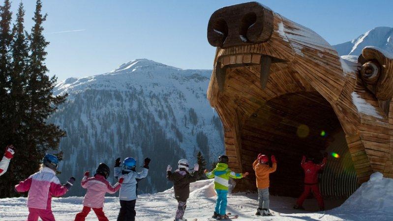 Bärenpiste im Skigebiet Serfaus-Fiss-Ladis, © Andreas Kirschner