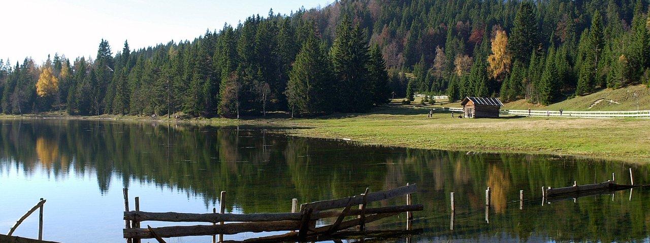 Wildmoossee, © Olympiaregion Seefeld