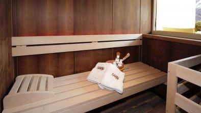 Suite mit privater Finnischer Sauna und Terrasse, © Hotel Zum Senner OG