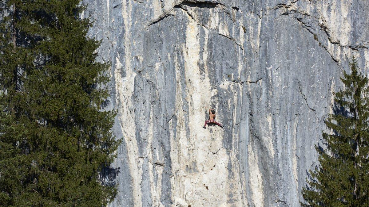 Klettergarten Steinplatte, © Climbers Paradise Tirol / Michael Meisl