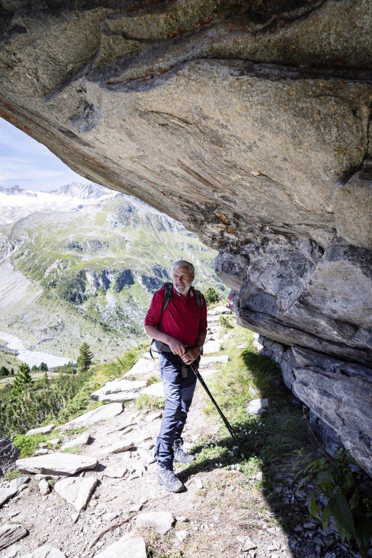 Walter Ungerank ist leidenschaftlicher Steinesammler.