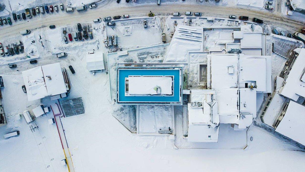360-Grad-Infinity-Pool am Dach des Hotel Mooshaus in Kühtai, © Gerber Hotels