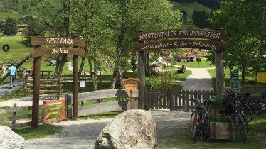 Spertentaler Kneippwasser, © Tirol Werbung