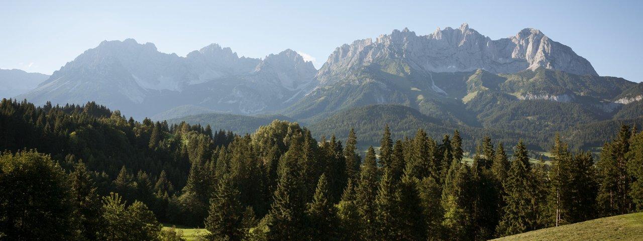 Der Marienweg Nr. 2 führt u.a. am Wilden Kaiser vorbei., © Tirol Werbung / Jens Schwarz