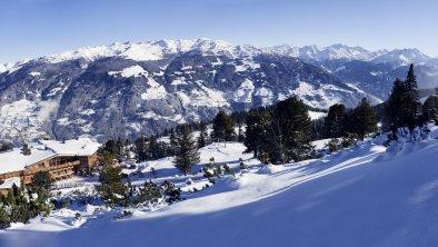PlatzlAlm Panorama Winter, © MediaShots | Marco Kessler