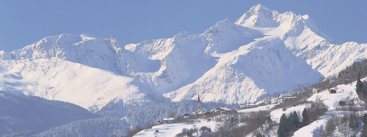 Stanz bei Landeck im Winter, © Archiv TirolWest/Albin Niederstrasser