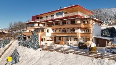 Ansicht Hotel Winter