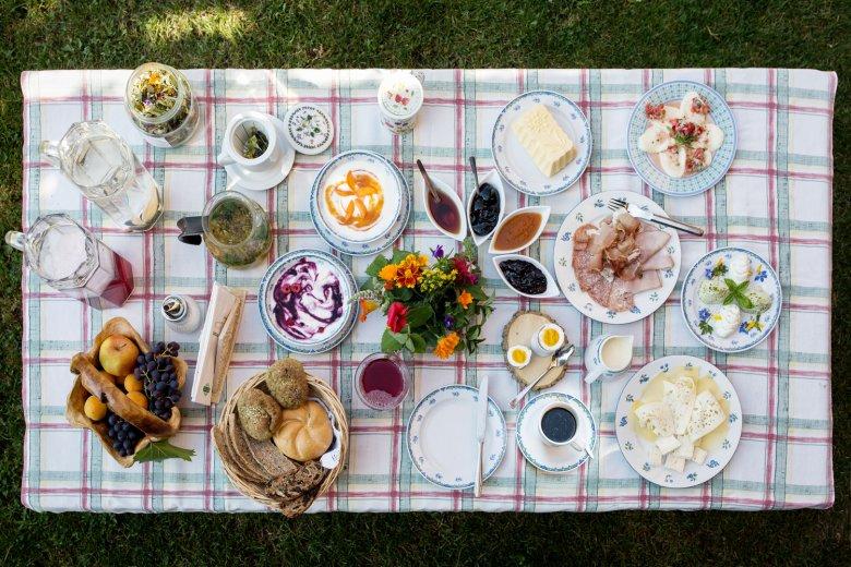 Frühstück auf Tirolerisch.