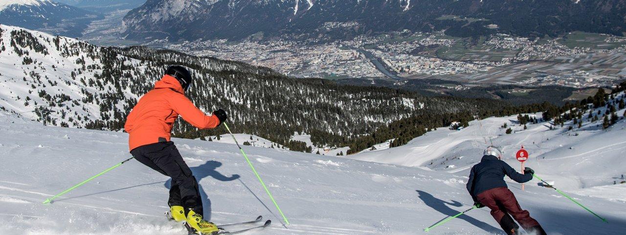 Skigebiet Glungezer, © Hall-Wattens